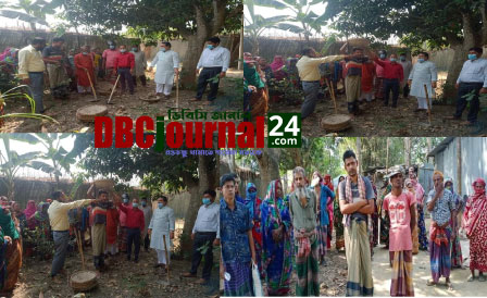 দুর্গাপুরের জয়নগরে অতি দরিদ্রদের জন্য ৪০ দিনের কর্মসূচীর উদ্বোধন